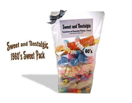 1960's Retro Sweets Pack